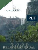 Ambiotech | Relatório Anual 08
