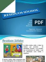 Residuos Solidos (Alcazar Marlon, Barraza Michael, Carvajal Indira, Lang Karina)