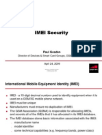 IMEI Security | Mobile Telecommunications | Telecommunications