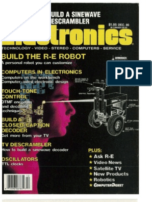 RE - 1986-12   Videocassette Recorder   Electrical Resistivity And