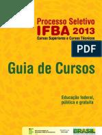 Guia de Cursos 2013