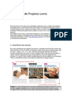 Protótipos de Projetos Lumis