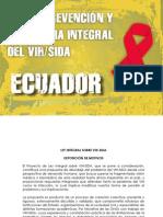 Ley de prevención y asistencia integral del VIH SIDA Ecuador