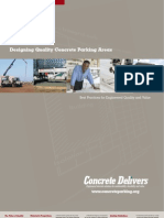 NRMCA Promotion Brochure Concrete Parking for Engineers