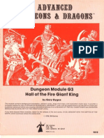 AD&D - Hall of the Fire Giant King (9) - G3 - TSR 9018
