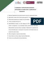 Requisitos Para Participar en El Diplomado