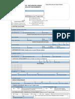 Formato Unico Declaracion Jurada Para -Licencia de Funcionamiento