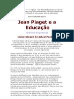 Epistemologia - Jean Piaget