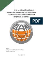 mineria CUESTIONES TRIBUTARIAS DE LA MINERÍA EN ARGENTINA