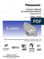 Panasonic DMC-ZS30 Owner's Guide