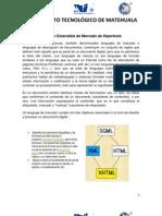 Tema 4.3 Lenguaje Extensible de Marcado de Hipertexto