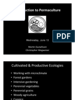 Introduction to Permaculture UAG 2012 June 13