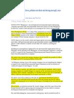 INQ Article Philippine Mining Laws