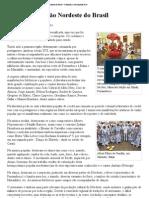 Cultura da região Nordeste do Brasil – Wikipédia, a enciclopédia livre