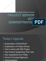 Project Server Sharepoint 2010