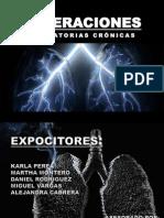 Alteraciones Respiratorias Cronicas