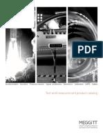 Meggitt Sensing Systems 2012 Catalog