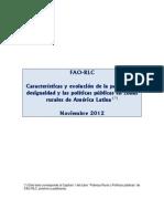 Caracteristicas y Evolucion de La Pobreza La Desigualdad y Las Politicas Publicas en Zonas Rurales de America Latina