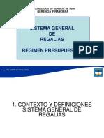 SGR - Regimen Presupuestal