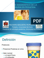Enfoque Diagnostico de La Proteinuria en Pediatria