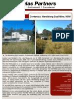 2011 Mandalong Coal Mine NSW Project Profile