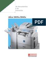 Catálogo Ricoh Aficio 2035 -2045