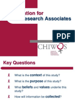 Introduction to Chiwos - May 14, 2013
