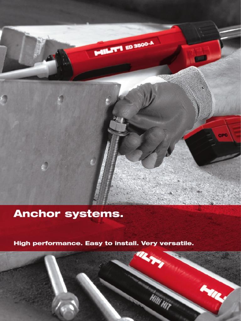 Hilti Anchors Galvanization Corrosion