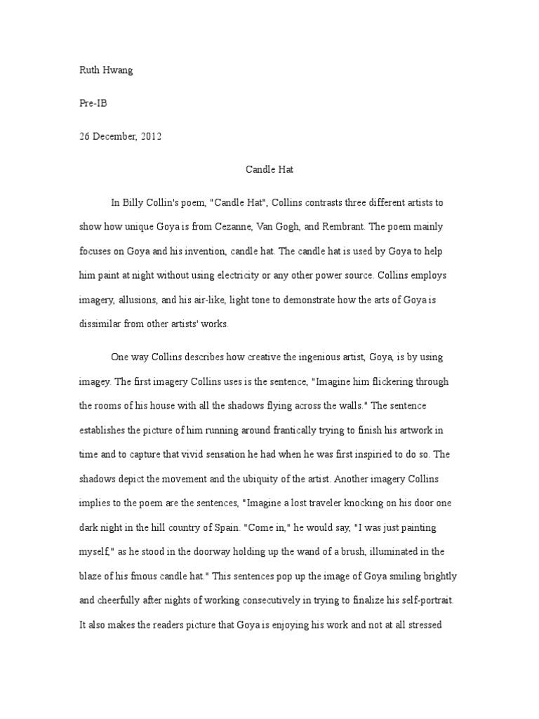 Appendix in essay writing