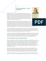 Adrenal Fatigue and Nutrition 2011