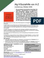 Leitfaden ALG II / Sozialhilfe von A bis Z