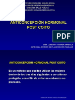 3. Anticonceptivo Hormonal Oral Post-coito
