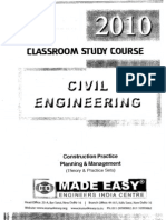 Construction Practice Planning & Management ( Theory & Pratice Sets )