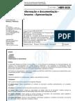 Norma ABNT NBR 6028 para resumos de trabalhos acadêmicos
