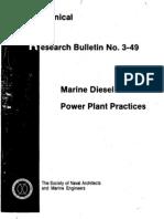Panel M-37 Diesel Pl.marine Diesel Power .Jun.1990.T-R
