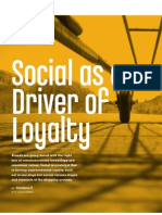 Social as a Driver of Loyalty