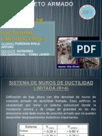 Edificacion de Muros de Ductilidad Limitada (Emdl)