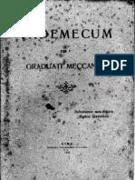 Vademecum Per i Graduati Meccanici - 1916
