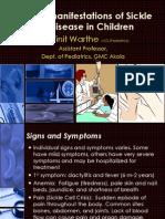 Sickle Cell Disease Manifestation