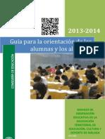 Guia de orientación Curso 2013-2014 (Málaga)