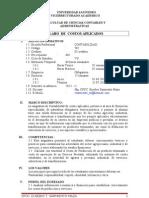 Silabo - Costos Aplicados Eusebio Sarmiento - VII