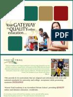 Online Education Brochure