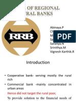 Role of Regional Rural Banks