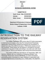 PPT Online Railway Reservation System