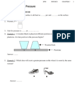 Chapter 3 Forces and Pressure (Student)