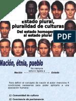 Estado Plural, pluraidad de Culturas, Mexico