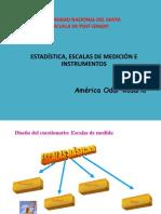 Estadistica Escalas de Medicion e Instrumentso