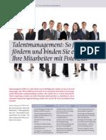 USP-D Talentmanagement mit Potenzialförderung