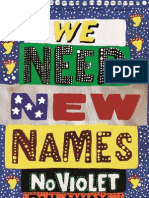 June Free Chapter - We Need New Names by NoViolet Bulawayo