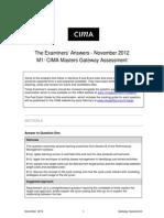 M1mastergateways Nov2012 Answers